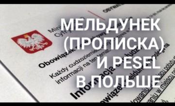 Прописка Песель Гданськ Познань Быдгощ Краков Любл