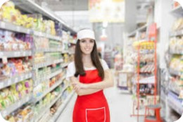 Работник супермаркета
