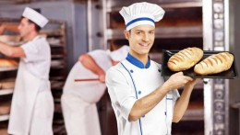 Помощник пекаря возле Гдыни