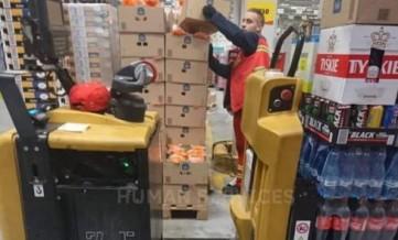 Работники склада супермаркета (от 15 зл с опытом )