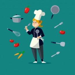 Кухонный работник, помощник повара