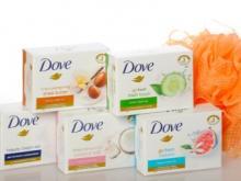 Упаковка мыла Dove/ЗП до 4200zl.netto