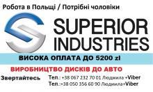 Операторы литейных машин без опыта/ ЗП до 5200 zl.
