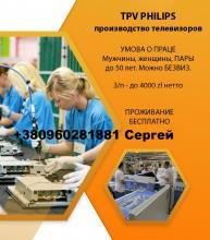 TPV PHILIPS. 3000-4000 злт нетто/мес. Щецин