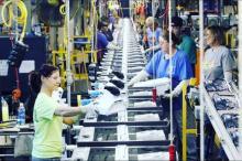 Рабочий на завод  кухонних плит   Samsung