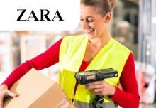 Пакування брендового одягу та взуття Zara