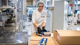 Упаковщик макаронных изделий Barilla в Люблине