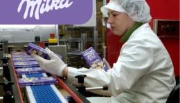 Комплектация продукции на шоколадну фабрику Milka