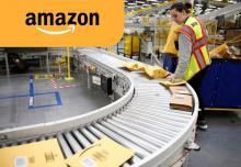 Пакувальник на склад інтернет-магазину Amazon