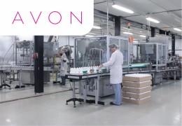 Упаковщик косметики на фабрику Avon