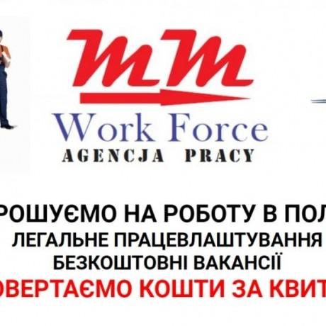 Семейные пары,мужчины,женщины на работу в Польше