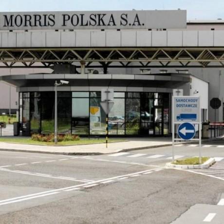 Упаковщик табака на фабрику Philip Morris в Краков