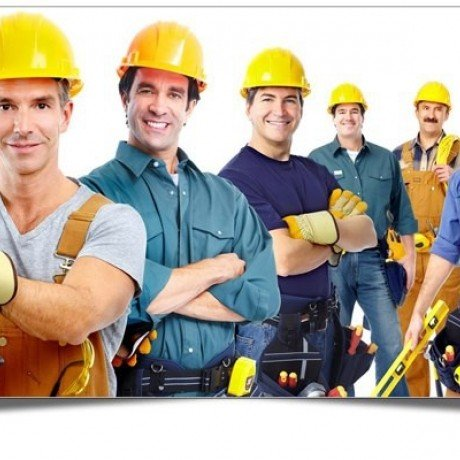 Різноробочі будівельники